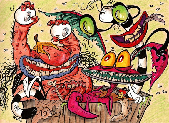 Cartoons of the 90s - Aaahh! Real Monsters 2