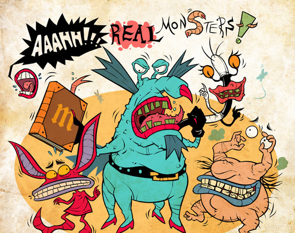 Cartoons of the 90s - Aaahh! Real Monsters 6