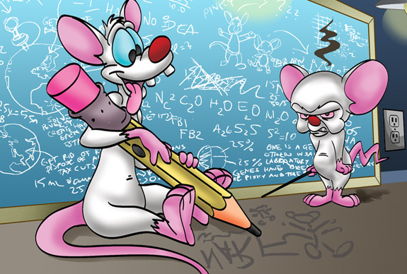 Cartoons of the 90s - Pinky and the Brain 3