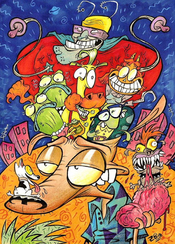 Cartoons of the 90s - Rocko's Modern Life 3