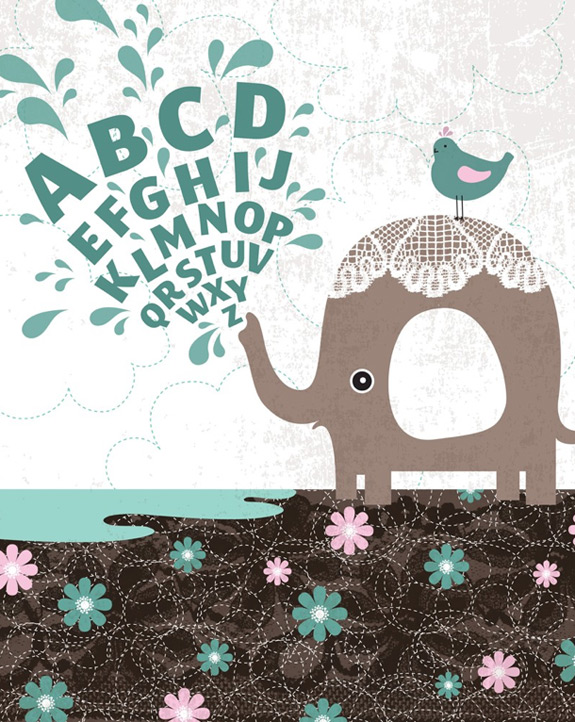 Elephant Alphabet