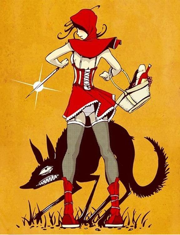 Little Red Riding Hood Art 10