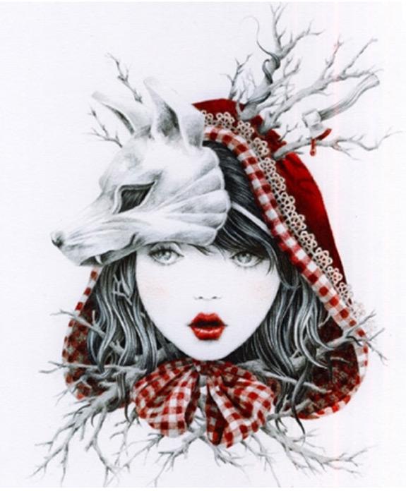 Little Red Riding Hood Art 12