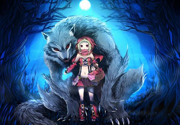 Little Red Riding Hood Art 15