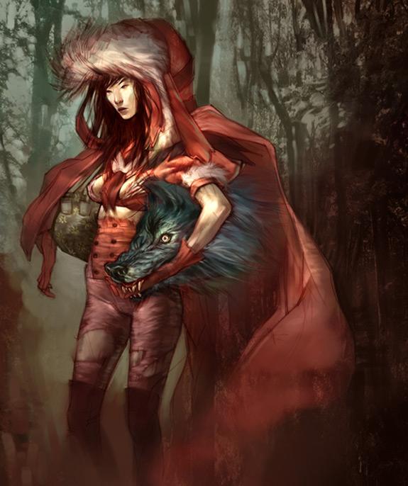 Little Red Riding Hood Art 16