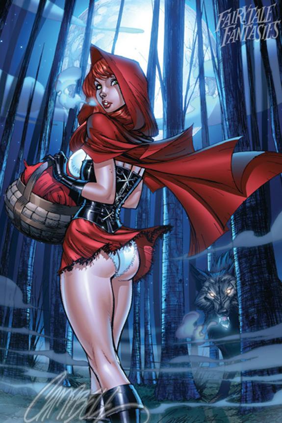 Little Red Riding Hood Art 18