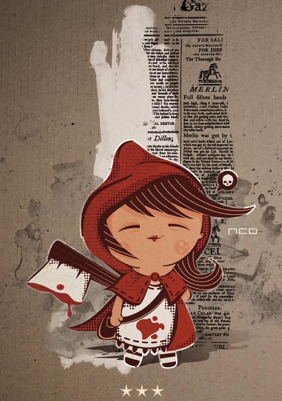 Little Red Riding Hood Art 2