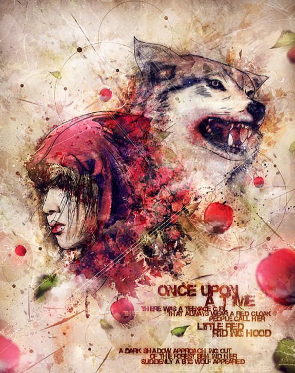 Little Red Riding Hood Art 21