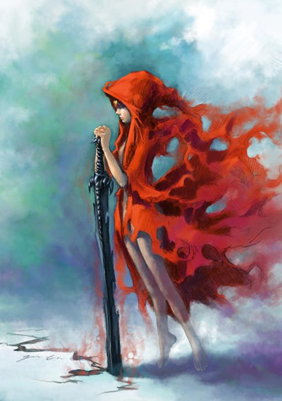 Little Red Riding Hood Art 5