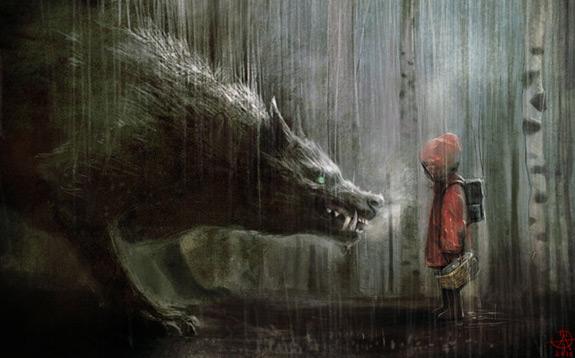 Little Red Riding Hood Art 8