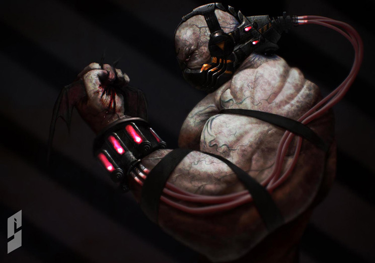 Bane 4 - Batman Villain Illustrations Part 4