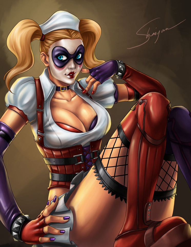 Harley 3 - Batman Villain Illustrations Part 1