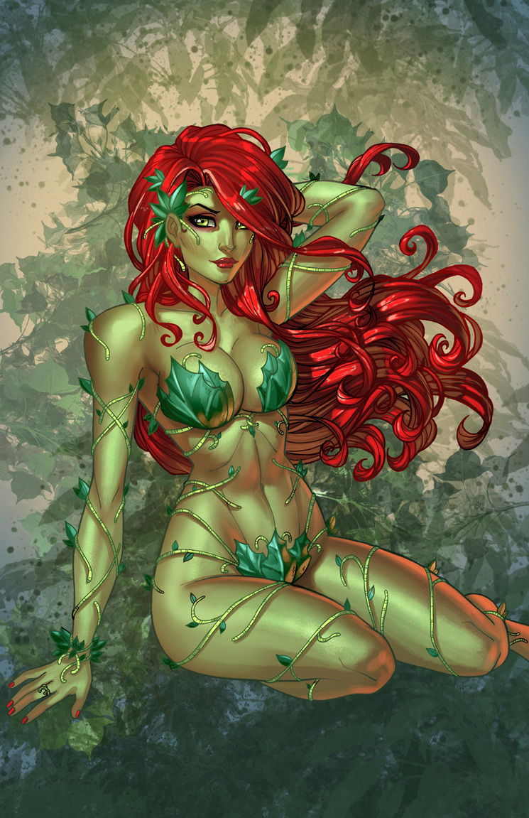 Poison Ivy 2 - Batman Villain Illustrations Part 1