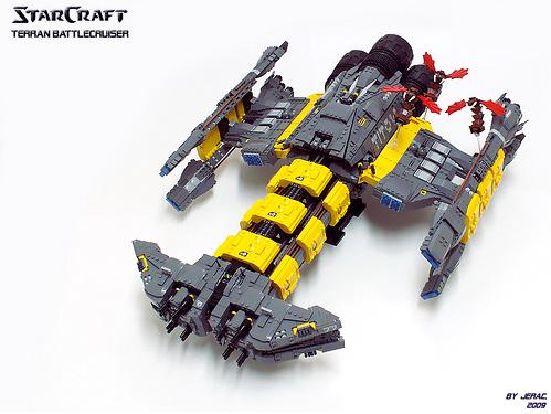 Starcraft Battlecruiser Titow