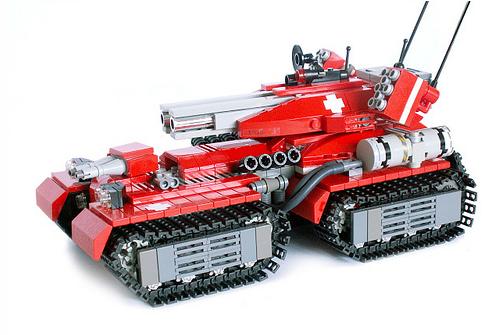 Jormangund battle tank
