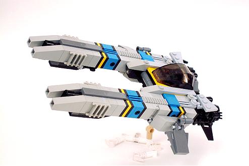 Tachyon intercepting fighter