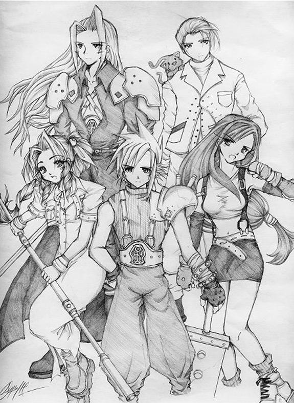 Final Fantasy Fan Art 24