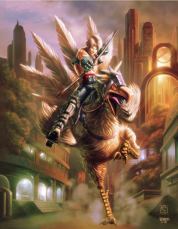 Final Fantasy Fan Art 8