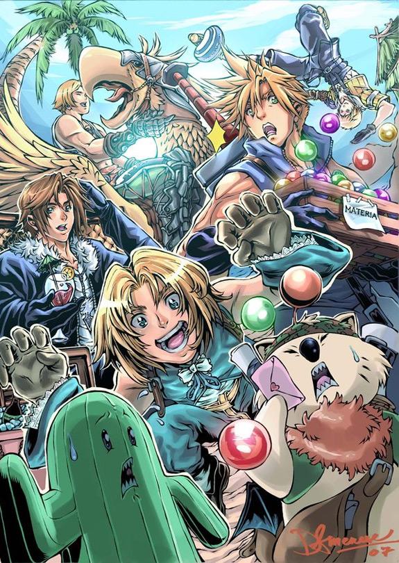 Final Fantasy Fan Art 9