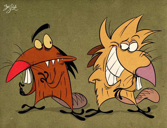 Cartoons of the 90s - Angry Beavers 1