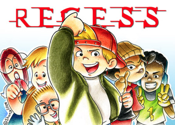 Cartoons of the 90s - Recess 2