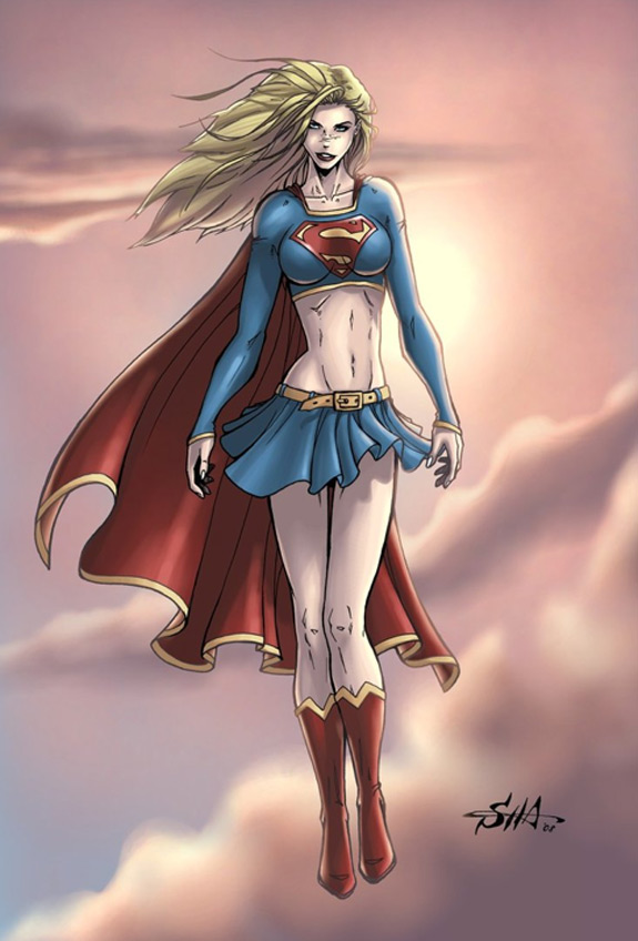 super and sexy: supergirl