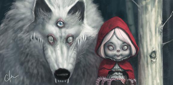 Little Red Riding Hood Art