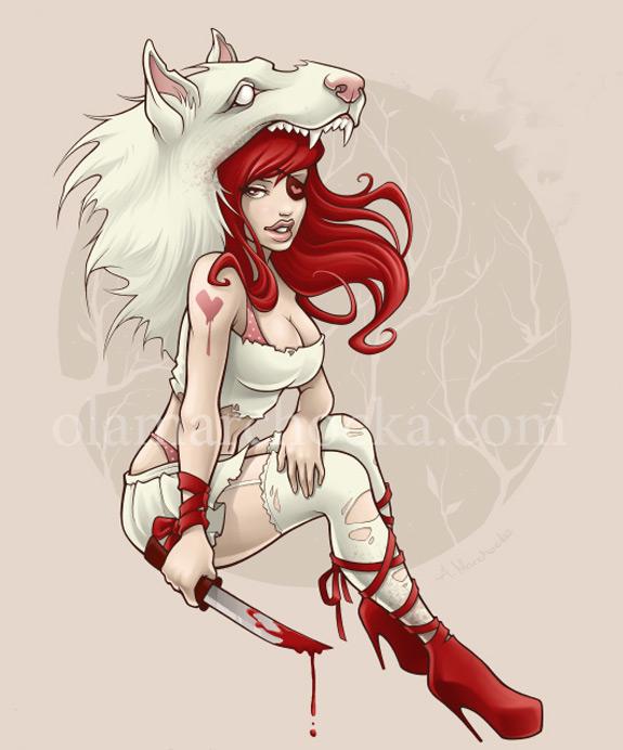 Little Red Riding Hood Art 13