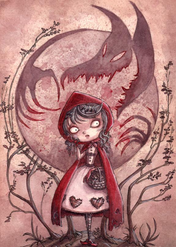 Little Red Riding Hood Art 14