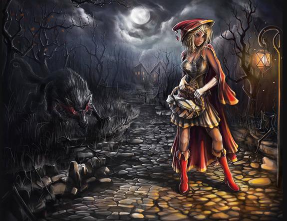 Little Red Riding Hood Art 17
