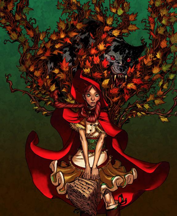 Little Red Riding Hood Art 4