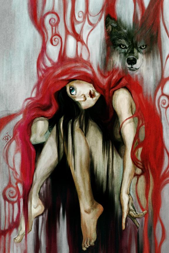 Little Red Riding Hood Art 6