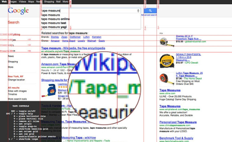 Google Chrome Extensions for Designers - Tape