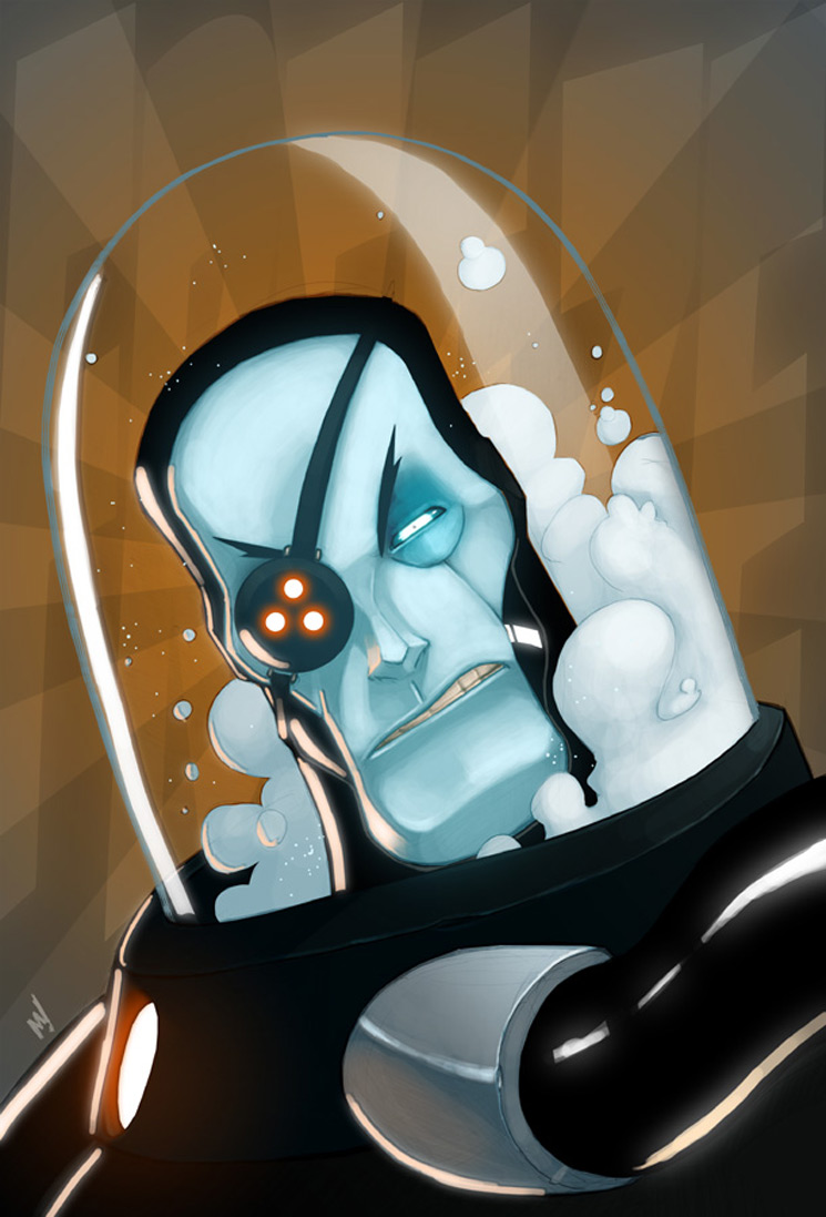Mr Freeze 1 - Batman Villain Illustrations Part 1