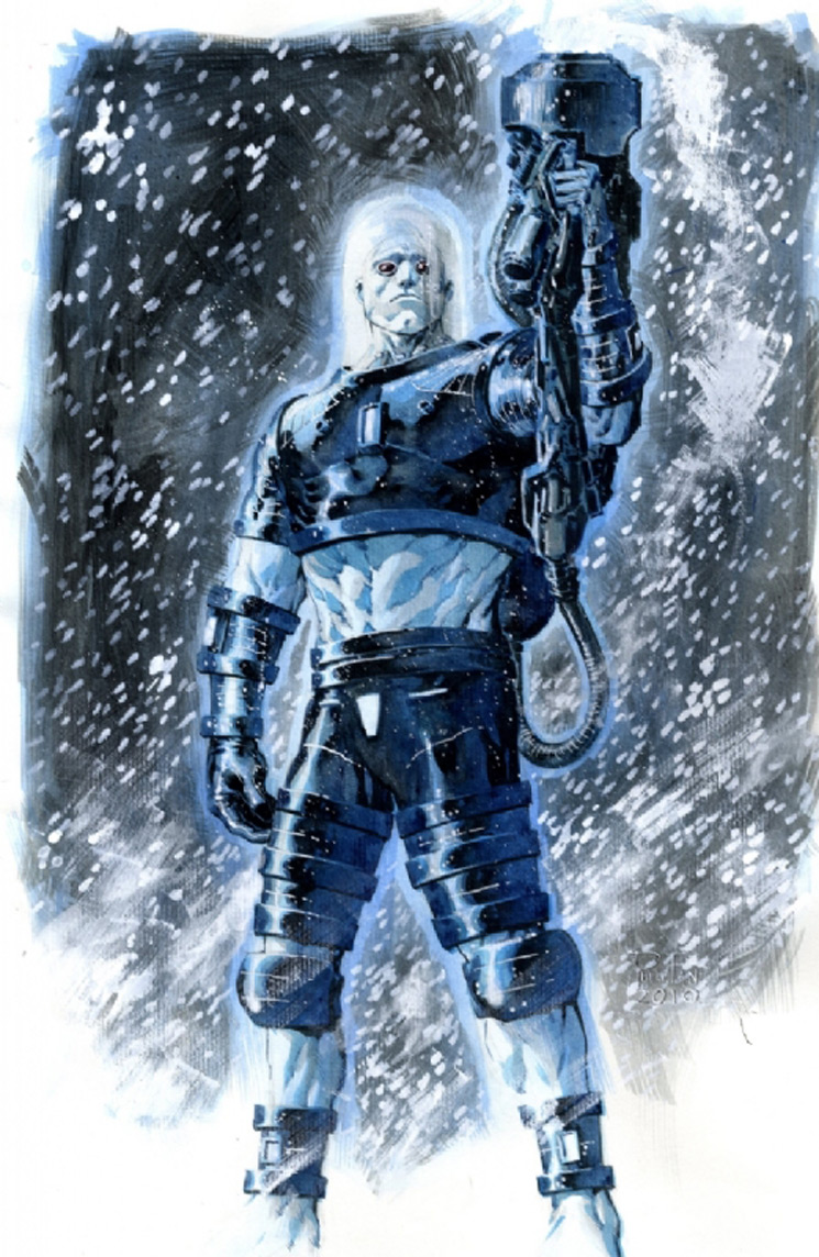 Mr Freeze 5 - Batman Villain Illustrations Part 1
