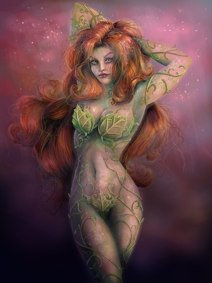 Poison Ivy 3 - Batman Villain Illustrations Part 1